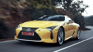 2018 Lexus LC 500 & LC 500h - First Look
