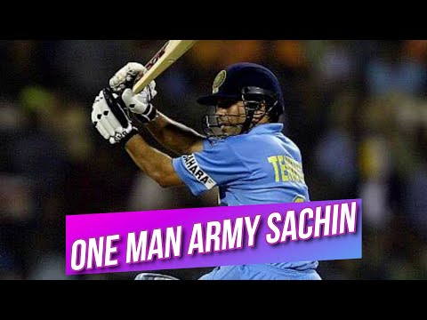 One Man Army Sachin Is Every Where | India Vs Australia At Bangalore TVS Cup 2003 Highlights