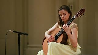 Ana Vidovic (guitar) plays Piazzolla
