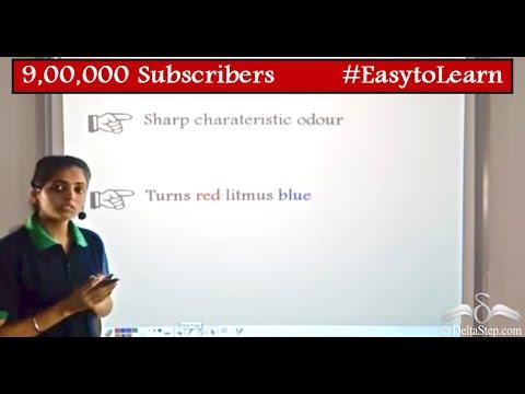 Ammonia: Chemical Properties