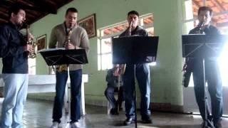 Mr Yunioshi Quarteto de Sax Itapetininga.MPG