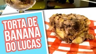 TORTA DE BANANA DO LUCAS #GordicesSaudáveis