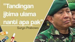 Sindir Kubu Jokowi, Suryo Prabowo: Tandingan Ijtima Ulama Nanti Apa Ya Pak?