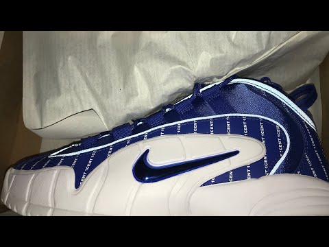 "Nike Air Max Penny Game Royal ""pinstripe Pack"" Review"