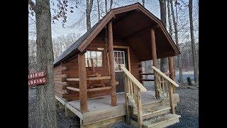 Delaware water gap KOA Cabin Camping