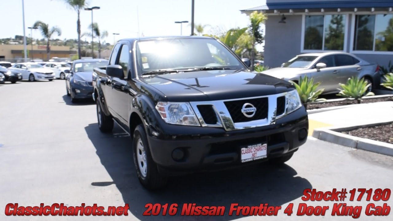 Used 2016 Nissan Frontier 4 Door King Cab For Sale In San DIego   17180
