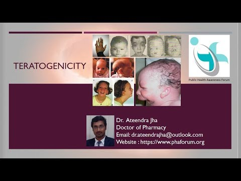 Teratogenicity Pregnancy Stages and Development of Fetus, Defects and cases