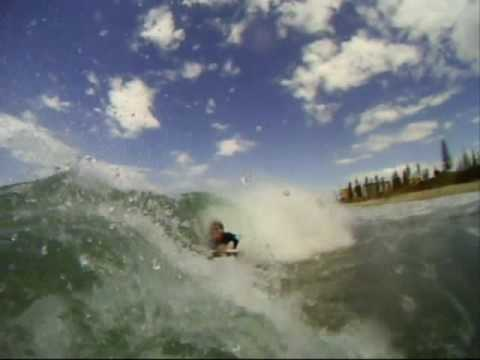 BodyBoarding B-Wall Port Macquarie