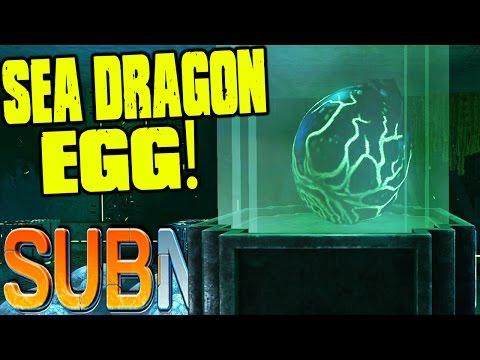 Subnautica - SEA DRAGON EGG FINDING, WARPER BUILDING - (Subnautica Precursor Gameplay)