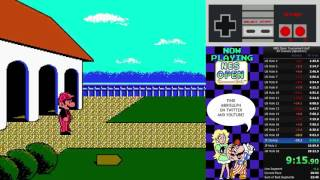NES Open Tournament Golf (All Courses PB - 27:58)
