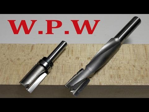 Обзор и практическое применение обгонной и спиральной фрезы W.P.W