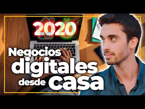 5 Negocios Digitales Fáciles que yo Empezaría en 2020 (todos se pueden empezar desde casa)