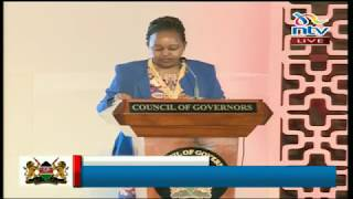 Governor Ann Waiguru speech at the Devolution conference in Kakamega