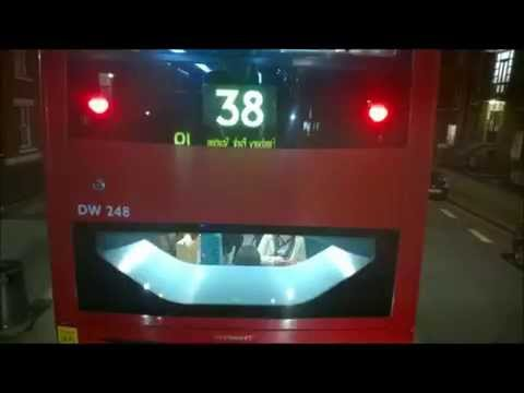 London Bus Route 19 from Piccadilly Circus to Islington Angel