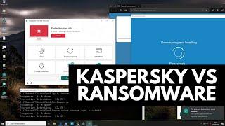 Kaspersky vs Ransomware