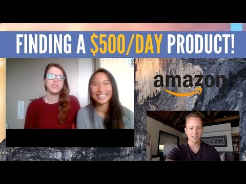 FINDING A $500/DAY AMAZON FBA PRODUCT LIVE WITH MY STUDENTS | AMAZON FBA PRODUCT RESEARCH