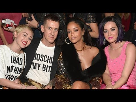 Miley Cyrus, Katy Perry & RIhanna Party Together At The Fashion LA Awards!