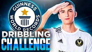 MON WORLD RECORD SUR LA MAP DRIBBLING CHALLENGE !