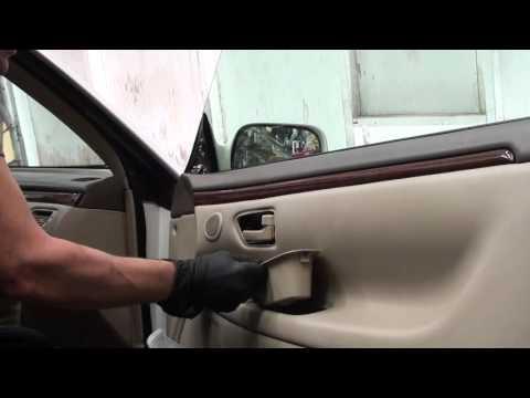 How To Toyota Camry Front Door Car Speaker Removal 2002 Doovi