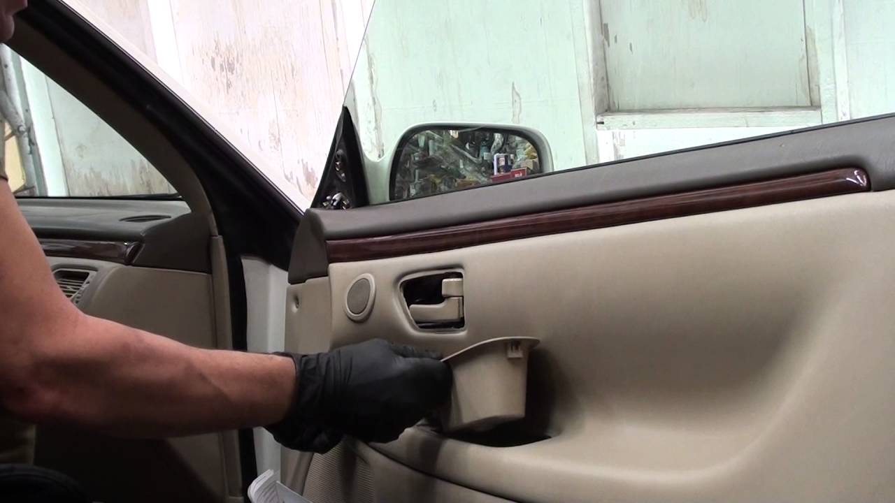 How to remove front door panels on a 2000 toyota solara - 2002 toyota camry interior door handle ...