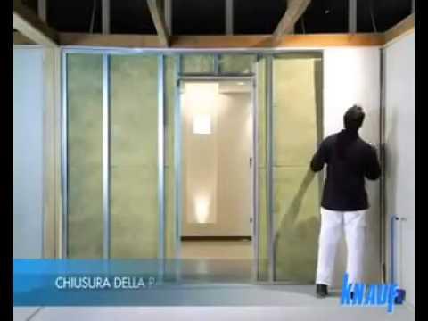 Cartongesso Knauf : Knauf posa della parete in cartongesso fase posa youtube