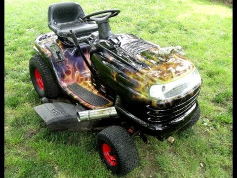 John Deere Lawn Tractor Wiring Hot Rod Lawn Tractor And Martial Arts Practice Knives