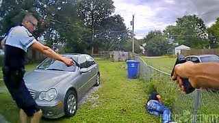 Bodycam Footage Of Police Fatally Shooting Man in Columbus, Ohio