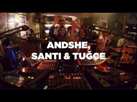 AndShe, Santi & Tuğçe • DJ Set • Le Mellotron
