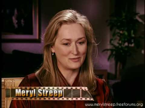 Meryl Streep - Music of the Heart Interview (1999)