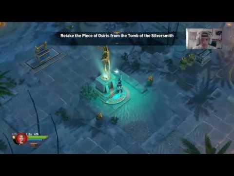 LARA CROFT - TEMPLE OF OSIRIS PLAYTHROUGH (Part 3) |