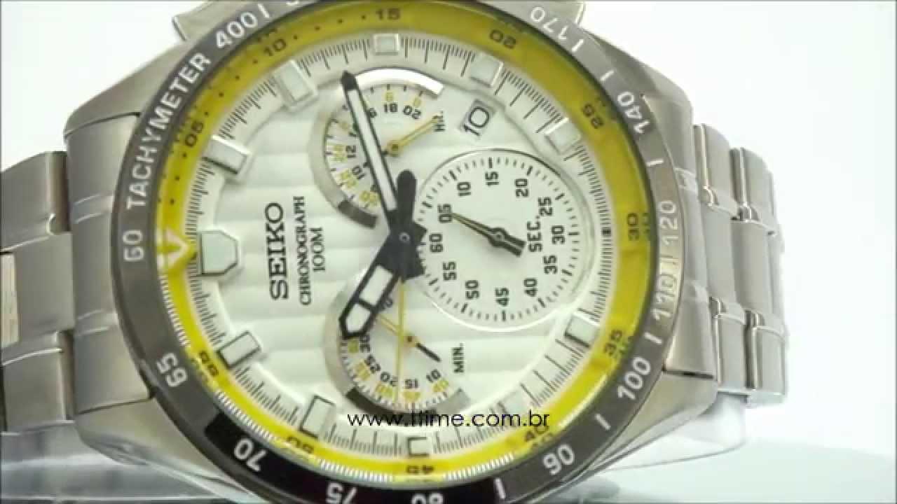 ec0c3804e38 Relógio Seiko Chronograph VK63AB 1B - YouTube