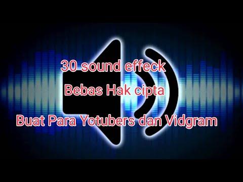 30 SOUND EFFECT YANG SERING DI PAKAI OLEH YOUTUBER DAN INSTAGRAM VIDGRAM 2018