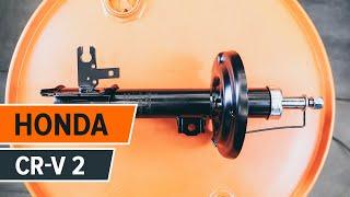 Hvordan bytte Bakre støtdemper på HONDA CR-V 2 [BRUKSANVISNING]