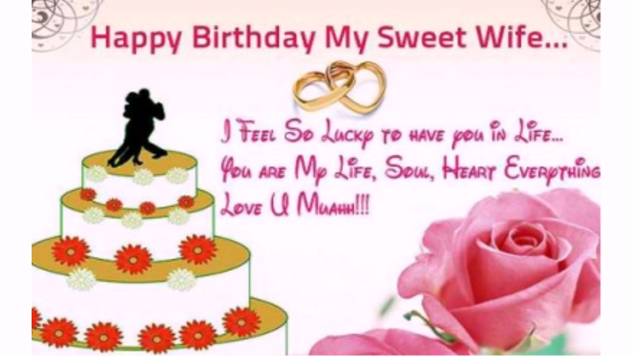 The 55 Romantic Birthday Wishes For Wife Wishesgreeting