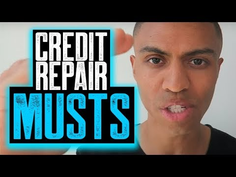 CREDIT REPAIR MUSTS || HOW TO BEST REMOVE EVICTION || REMOVE COLLECTIONS WITH VALIDATION LETTERS