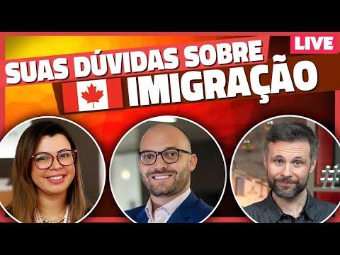 Perguntas e Respostas sobre vistos, imigracao e vida no Canadá 🇨🇦 [AO VIVO]