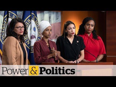 Democratic congresswomen call Trump tweets a 'blatantly racist attack' | Power & Politics