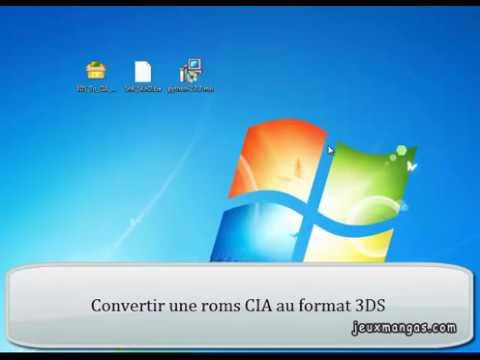 Convertir une rom CIA au format 3DS decrypted [Tutoriel FR] (Citra 3DS)
