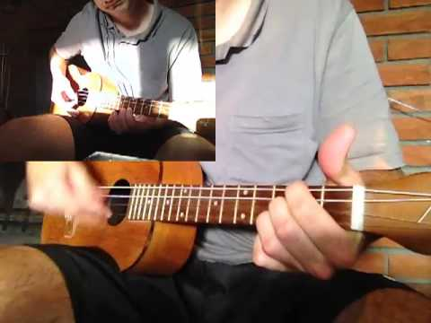 Dream A Little Dream Of Me Baritone Ukulele Youtube