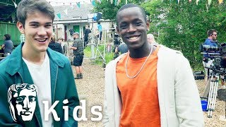 Exclusive Set Tour with Cast of The A List | BAFTA Kids