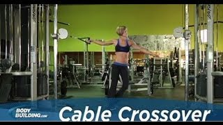 cable crossover chest exercise bodybuilding com