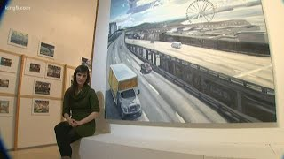 Art exhibit showcases shared experiences before Seattle viaduct closes