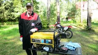 видео техническое обслуживание генератора