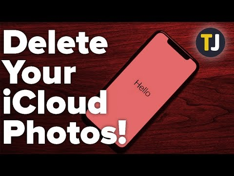 How to Delete Your Entire iCloud Photo Library!