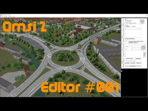 OMSI 2 Editor #001 Erstellen einer Karte + Sattelieten Bilder.