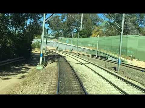 Hornsby to North Sydney Empty - REALTIME