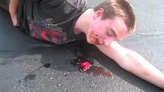 Kid gets hit by Bike