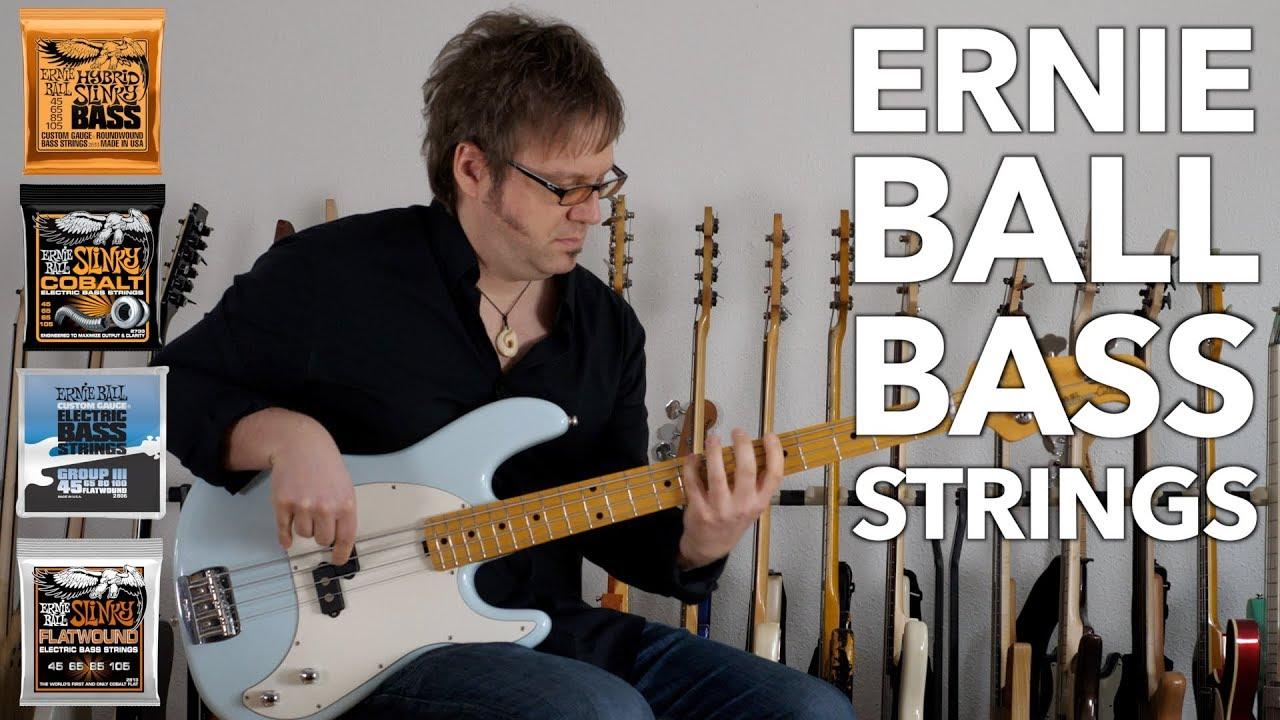 Ernie Ball Bass Strings Comparison Youtube