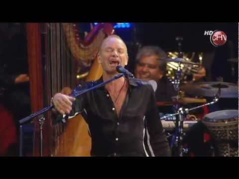 Sting - Englishman in New York (HD) Live in Viña del mar 2011