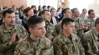 ВП-ТV: Військові в гостях у краматорських школярів ЗОШ№5 (7.04.2017)